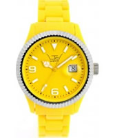 Buy LTD Watch Unisex Yellow Dial And Strap With Ss Bezel Watch online