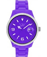 Buy LTD Watch Unisex Purple Dial And Strap With Ss Bezel Watch online