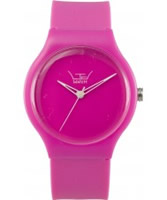 Buy LTD Watch Unisex Limited Edition Pink Dial And Pu Strap Watch online