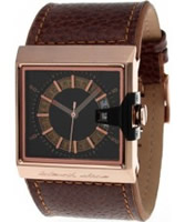 Buy Black Dice SOLO Brown Rose Gold Watch online