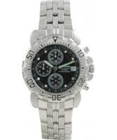 Buy Krug Baumen Sportsmaster Black Diamond Mens Chronograph Sports Watch online