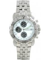 Buy Krug Baumen Sportsmaster White Mens Chronograph Watch online