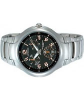 Buy J Springs Mens Urban Active Black Steel Watch online
