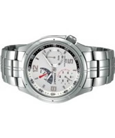 Buy J Springs Mens Sports Retrograde Multi Calendar Silver Watch online