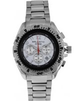 Buy Ballistic Mens Extreme Silver White Chronograph Watch online