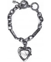 Buy Accessorize Ladies Heart Shape Charm Bracelet Watch online
