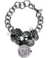Buy Accessorize Ladies Cluster Charm Bracelet Watch online