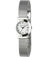 Buy Accessorize Ladies Silver White Watch online