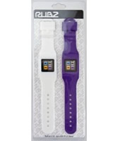 Buy RUBZ Pack of 2 White Purple NANO WATCH HOLDERS online