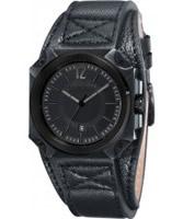 Buy Black Dice Mens Graduate Black Watch online