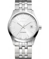 Buy Rodania Swiss Mens Silver Xelos Automatic Watch online