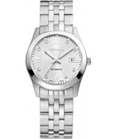 Buy Rodania Swiss Ladies Silver Xelos Automatic Watch online