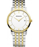 Buy Rodania Swiss Mens Two Tone Elios Watch online