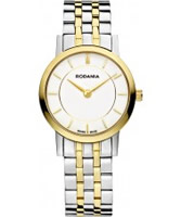 Buy Rodania Swiss Ladies Two Tone Elios Watch online