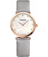 Buy Rodania Swiss Ladies Grey Elios Silk Watch online