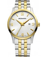 Buy Rodania Swiss Mens Two Tone S100 Watch online