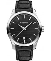 Buy Rodania Swiss Mens All Black Nolan Watch online