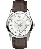 Buy Rodania Swiss Mens Silver and Brown Celso Watch online