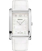 Buy Rodania Swiss Ladies Silver and White Altra Watch online
