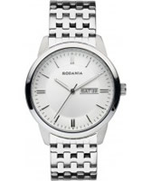 Buy Rodania Mens White and Silver Turner Watch online