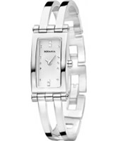Buy Rodania Ladies White and Silver Genona Watch online