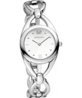 Buy Rodania Ladies White and Silver Amara Watch online