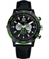 Buy Nautica Mens NCS Chronograph Black Watch online