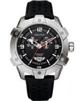 Buy Nautica Mens Chrono Black Watch online