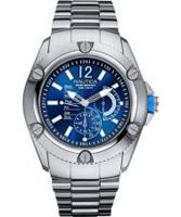 Buy Nautica Mens Blue Silver Watch online