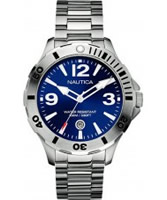 Buy Nautica Mens BFD 101 Blue Silver Watch online