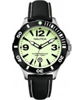 Buy Nautica Mens BFD 101 Luminous Black Watch online