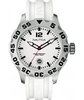 Buy Nautica Mens BFD 100 White Resin Watch online
