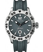 Buy Nautica Mens BFD 100 Grey Resin Watch online