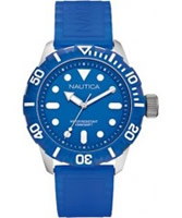 Buy Nautica Mens NSR 100 Navy Watch online