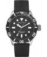 Buy Nautica Mens NSR 100 Black Watch online