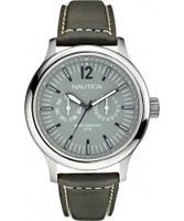 Buy Nautica Mens NCT 150 Grey Multifunction Watch online