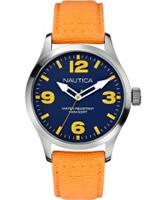 Buy Nautica Mens BFD 102 Yellow Watch online