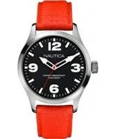 Buy Nautica Mens BFD 102 Orange Watch online