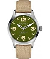 Buy Nautica Mens BFD 102 Tan Watch online
