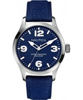 Buy Nautica Mens BFD 102 Blue Watch online