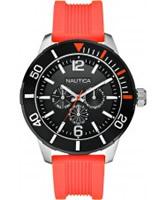 Buy Nautica Mens NSR 11 Orange Watch online