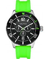 Buy Nautica Mens NSR 11 Green Watch online