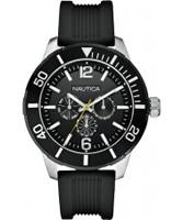 Buy Nautica Mens NSR 11 Black Watch online