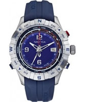 Buy Nautica Mens Navy Blue NST 550 Tide Temp Compass Watch online