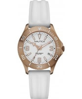Buy Nautica Ladies White NAC 102 Watch online
