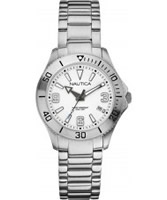 Buy Nautica Ladies Silver NAC 102 Watch online