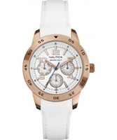 Buy Nautica Ladies Rose Gold NCT 405 Multifunction Watch online