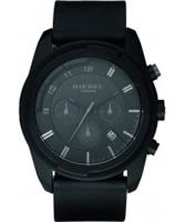 Buy Diesel Mens Advanced Chronograph Black Watch online