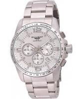 Buy Dilligaf Mens Chronograph Silver Watch online