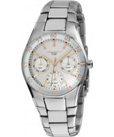 Buy Dilligaf Ladies Steel Two Tone Dial And Ss Bracelet Watch online
